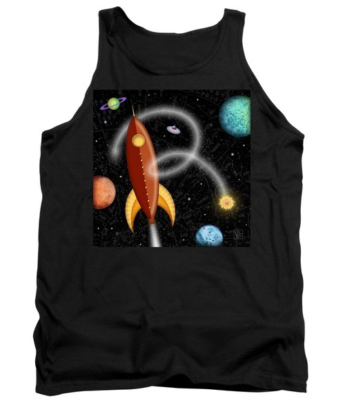 R Is For Rocket Tank Top