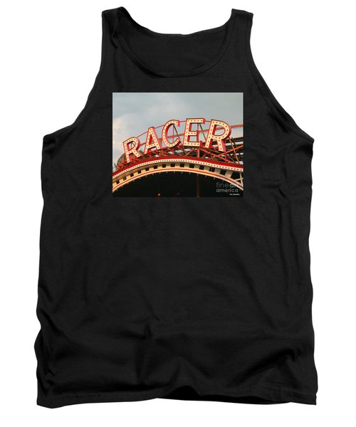 Racer Coaster Kennywood Park Tank Top