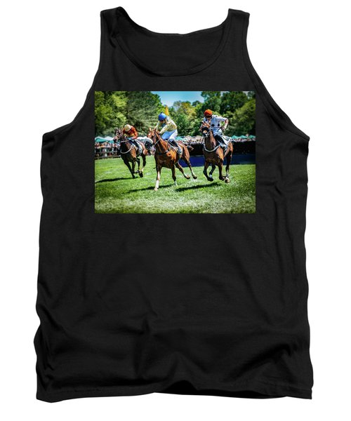 Racing Down The Stretch Tank Top