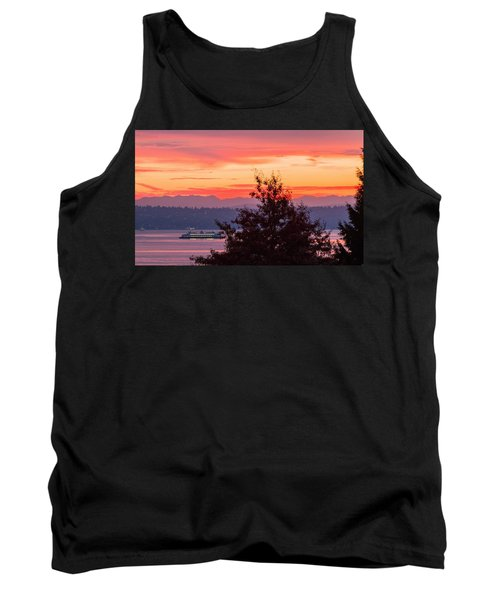 Radiance At Sunrise Tank Top by E Faithe Lester