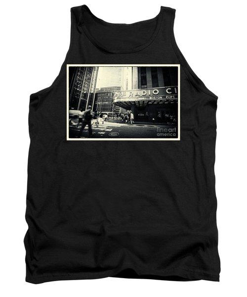 Radio City Music Hall Manhattan New York City Tank Top