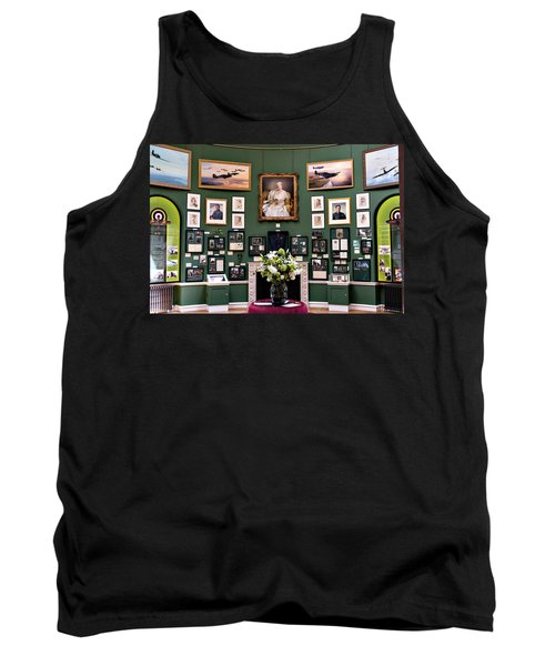 Tank Top featuring the photograph Raf Bentley Priory by Alan Toepfer