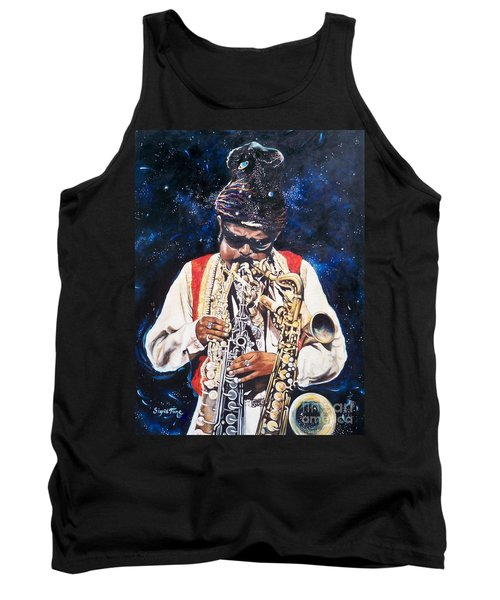 Rahsaan Roland Kirk- Jazz Tank Top by Sigrid Tune