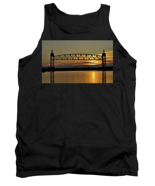Railroad Bridge Over The Canal Tank Top