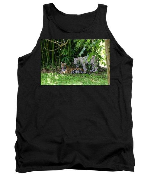 Rain Forest Tigers Tank Top