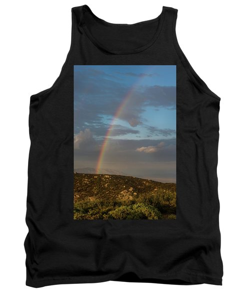 Rainbow Above Lagunas Tank Top
