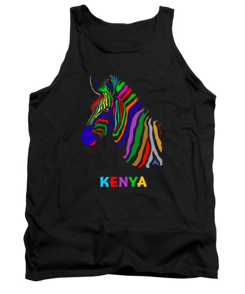 Tank Top featuring the digital art Rainbow by Anthony Mwangi