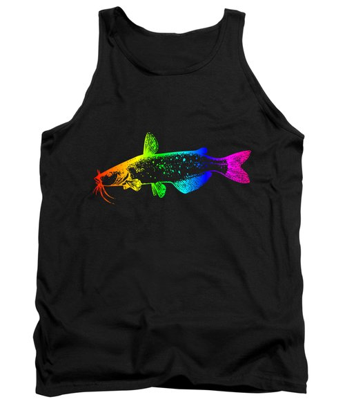 Rainbow Catfish #2 Tank Top by Frederick Holiday