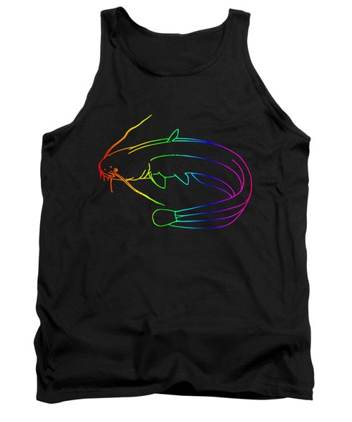 Rainbow Catfish Tank Top by Frederick Holiday