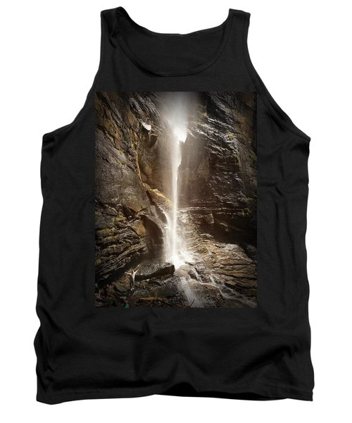 Rainbow Falls Of Jones Gap Tank Top