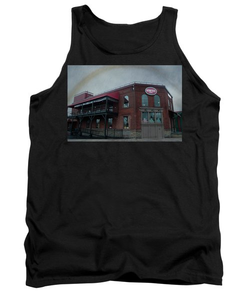 Rainbow Over Genesee Beer Tank Top