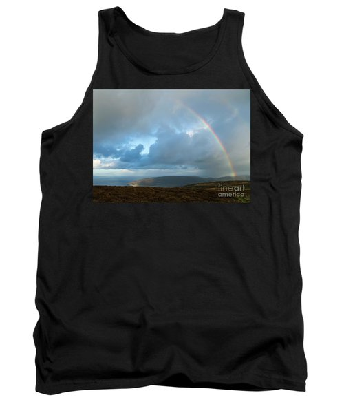 Rainbow Over Porlock Hill Tank Top
