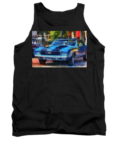 Rally Sport Tank Top by Lynne Jenkins