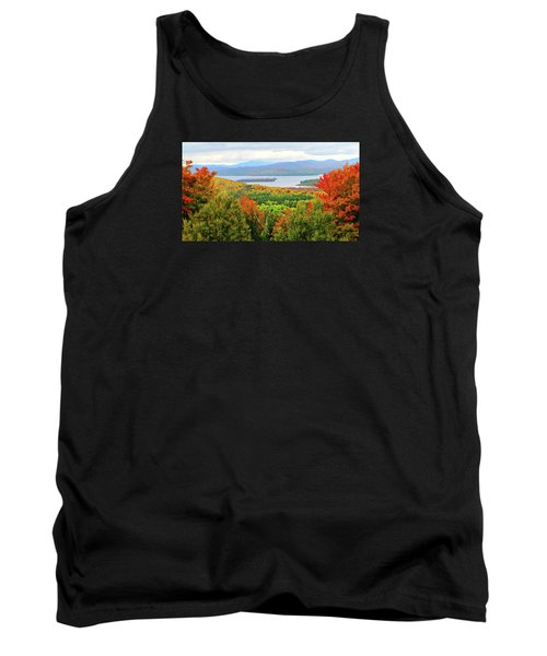 Rangeley Lake And Rangeley Plantation Tank Top