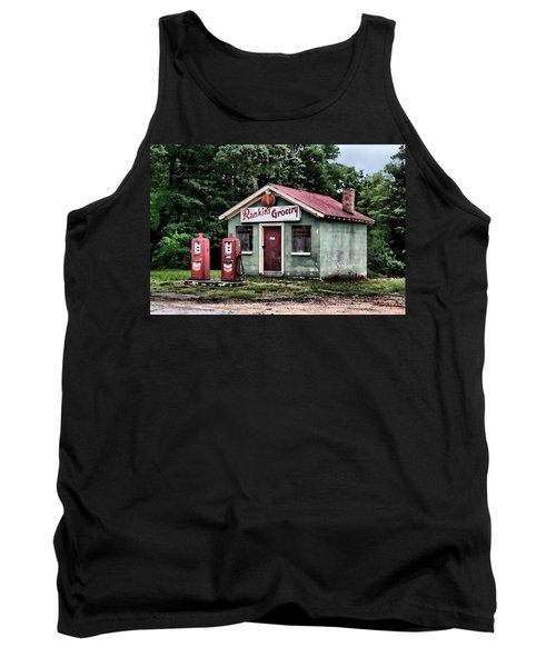 Rankins Grocery In Watercolor Tank Top