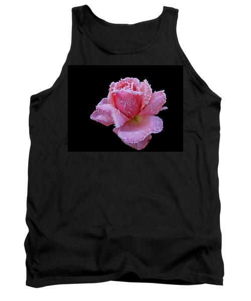 Rare Winter Rose Tank Top