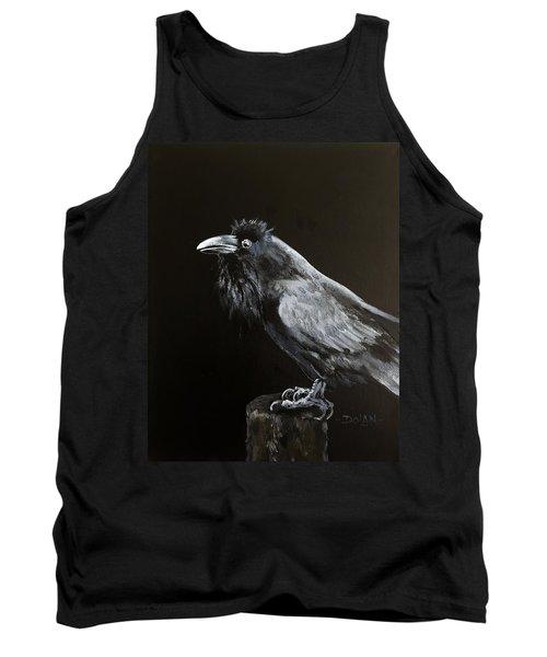 Raven On Post Tank Top
