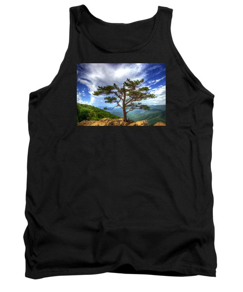 Ravens Roost Tree Tank Top by Greg Reed