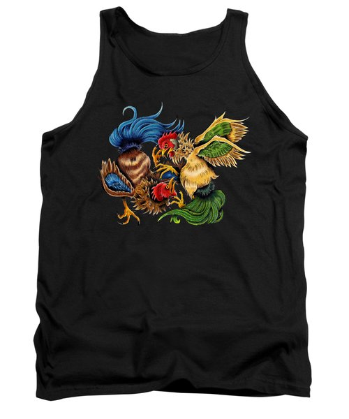 Rawkin' Cawks Tank Top by Vicki Von Doom