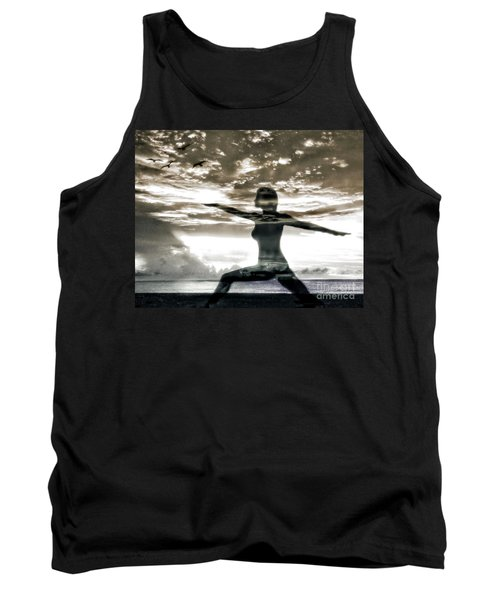 Reaching For Sunset Tank Top