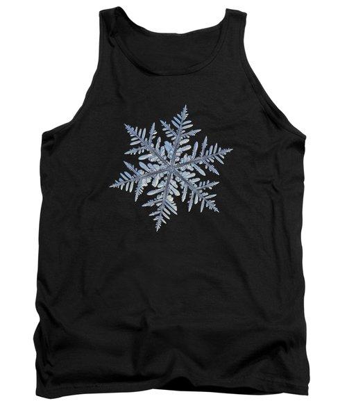 Real Snowflake - Silverware Black Tank Top