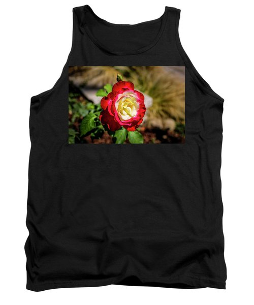 Red And Yellow Rose Tank Top