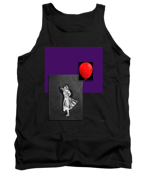 Red Balloon 2 Tank Top by Tom Conway