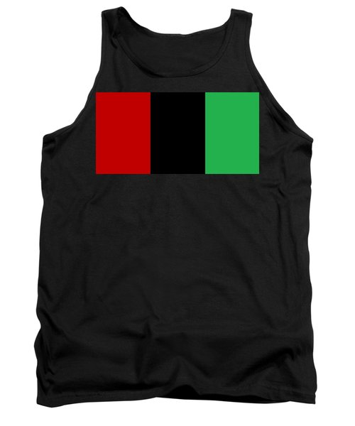 Red Black And Green Tank Top