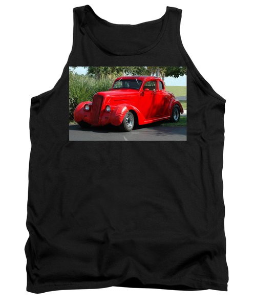 Red Car Tank Top
