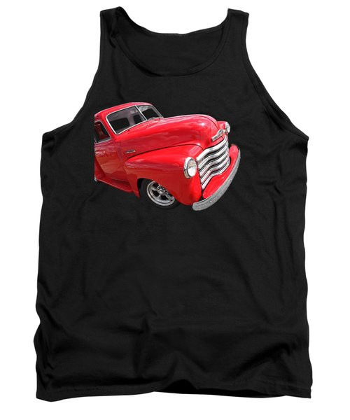 Red Chevy Pickup Tank Top