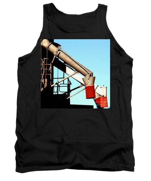 Tank Top featuring the photograph Red Chutes by Stephen Mitchell