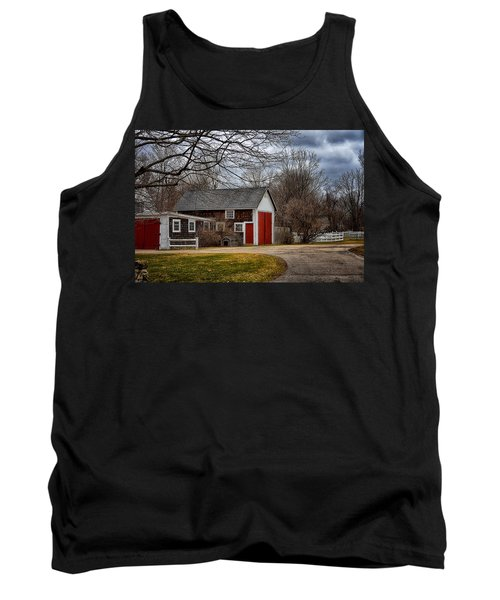 Red Doors Tank Top by Tricia Marchlik