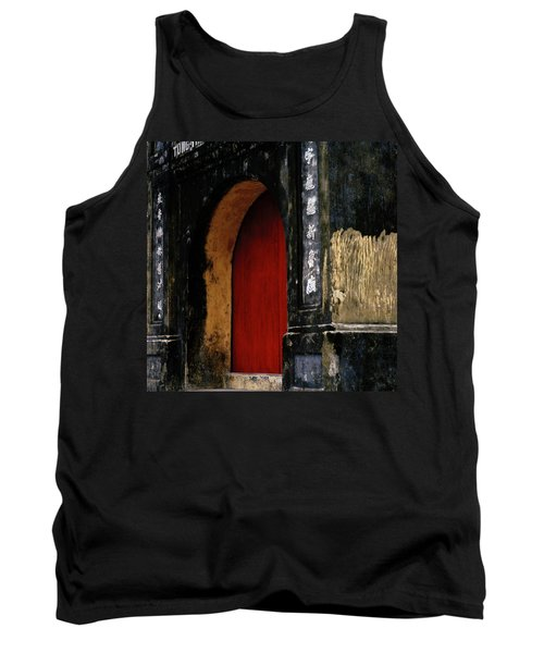 Red Doorway Tank Top