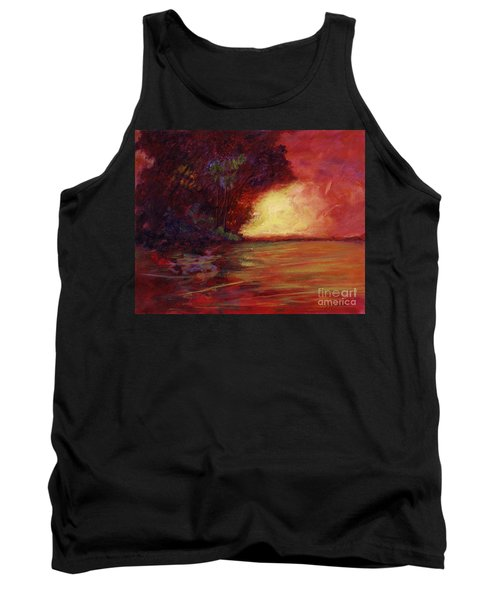 Red Dusk Tank Top