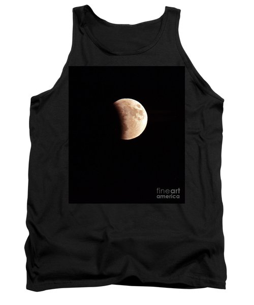 Red Harvest Super Moon Eclipse Tank Top