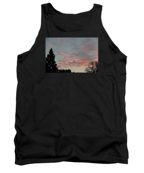 Red Morning Cloud 2 Tank Top