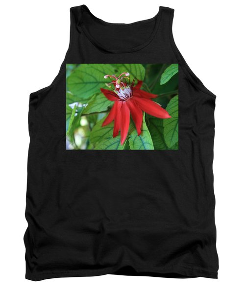 Red Passion Tank Top by Marna Edwards Flavell