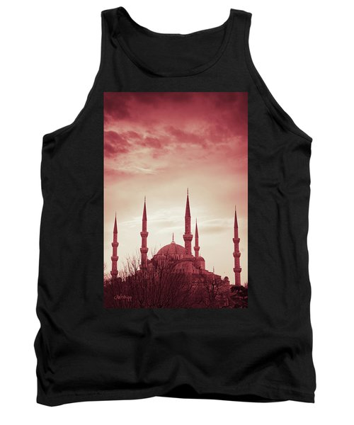 Red Peace Tank Top
