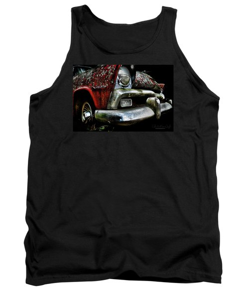Red Plymouth Belvedere Tank Top