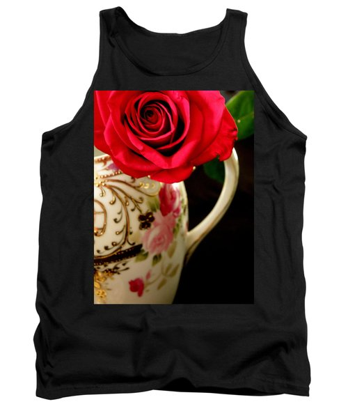Red Red Rose Tank Top