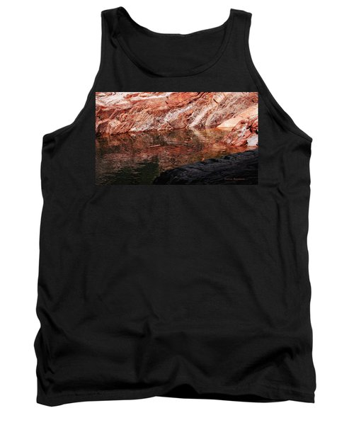 Red River Tank Top by Donna Blackhall