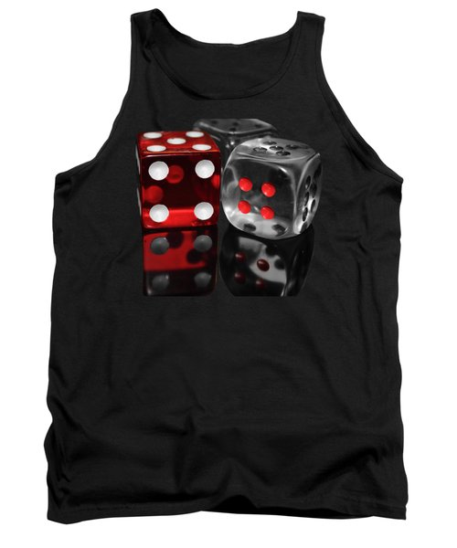 Red Rollers Tank Top by Shane Bechler