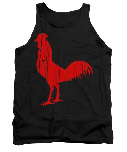Red Rooster Tee Tank Top