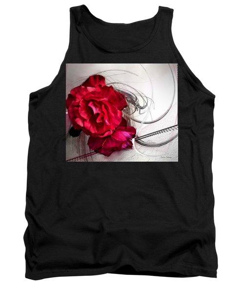 Red Roses Tank Top