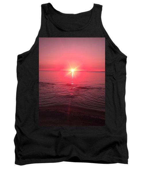Red Sky Sunset Tank Top