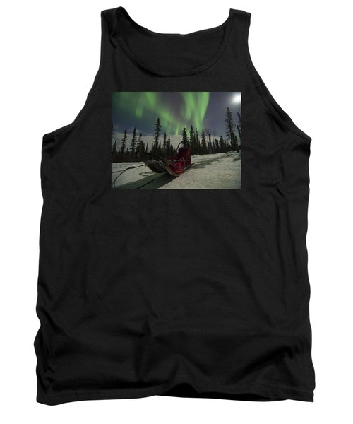 Red-sled Aurora Tank Top