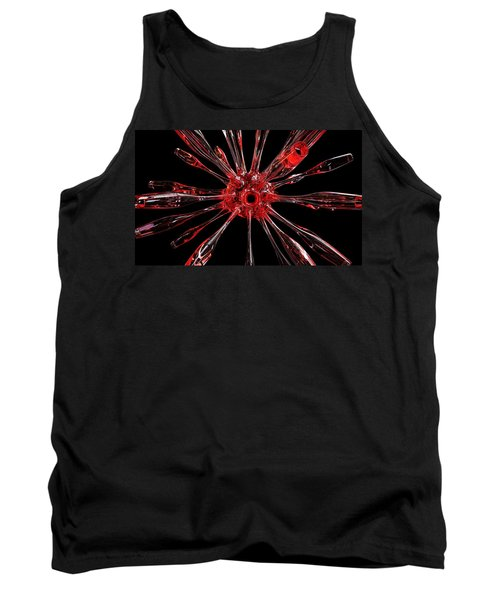 Red Spires Of Glass Tank Top