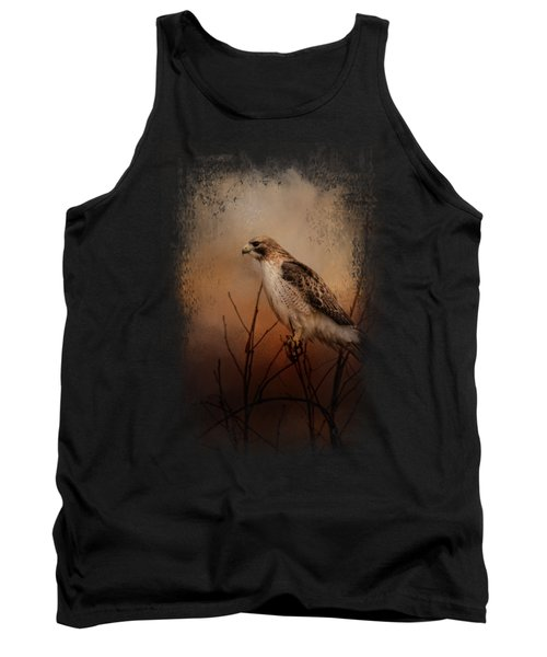 Red Tail In Wait Tank Top