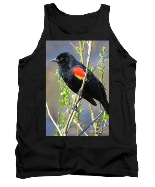 Red-winged Perch Tank Top