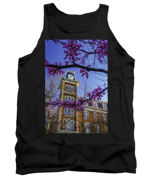 Redbud At Old Main Tank Top by Damon Shaw